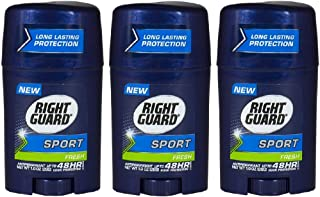 Right Guard Sport Fresh Deodorant 1 oz Travel Size (Pack of 3)