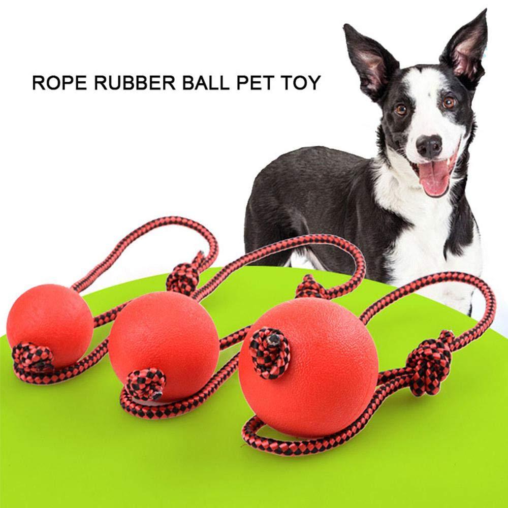 Pelota de perro Aolvo indestructible, juguetes divertidos para ...