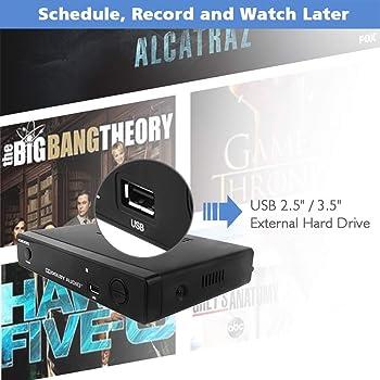 Mediasonic ATSC Digital Converter Box w/ TV Recording, USB Multimedia Player, and TV Tuner Function (HW-150PVR)