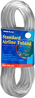 Penn Plax Airline Tubing for Aquariums –Clear and Flexible Resists Kinking, 25 Feet Standard