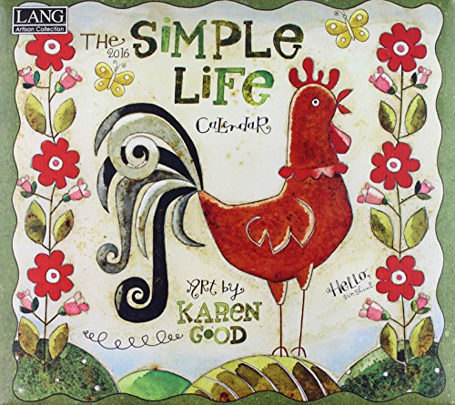 Simple Life 2016 Calendar (Lang Artisan Collection)