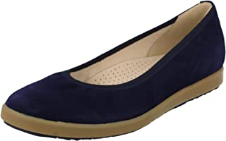 Mesdames nouvelle femme plat ballerine enfiler toile pompes casual dolly chaussures taille