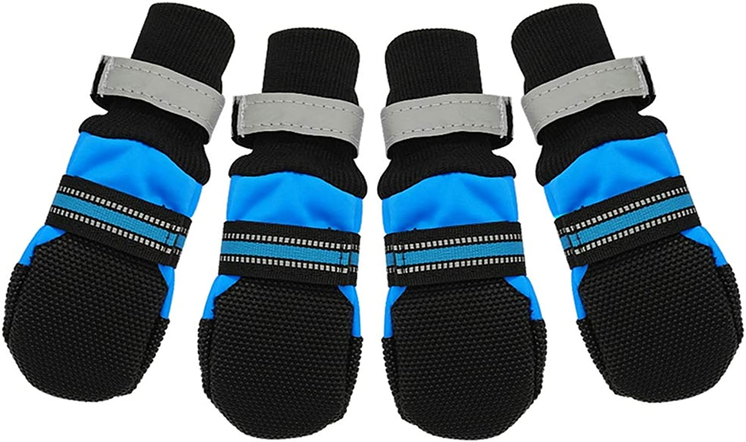 Pet Dog shoes Boots,Winter Waterproof Warm Dog Boot AntiSlip Sock Dogs Indoors and Outdoors shoes