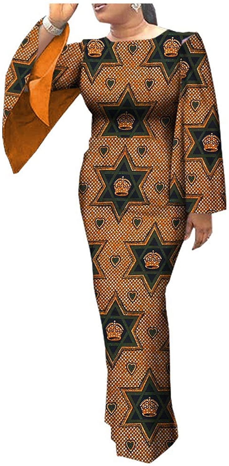 African Dresses for Women Party Wear for Girls Women Wax Print Ball Gown Cocktail Church Attire Prom