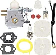 Trustsheer SRM-2100 GT-2000 Carburetor Kit for Echo PE-2000 PE-2400 GT-2400 SHR-210 SHC-2100 PAS-2000 PAS-2100 PPT-2100 SRM-2400 String Trimmer Weed Eater C1U-K52 C1U-K47
