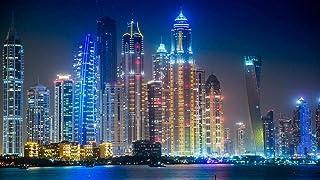 Diy Digital Painting Painting By Number Oil Digital Kit Painting Canvas Linen Digital Art Gift Decoration Dubai Architectu...