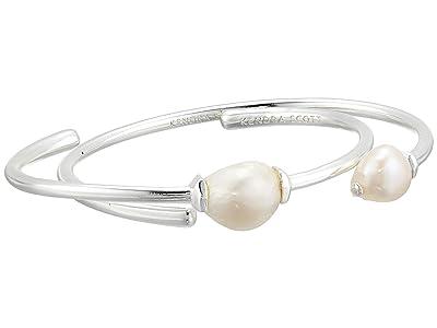 Kendra Scott Amiya Bracelet (Bright Silver Baroque Pearl) Bracelet