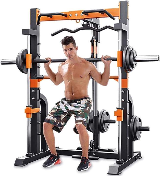 Squat rack professionale regolabile B08P5N1K1H