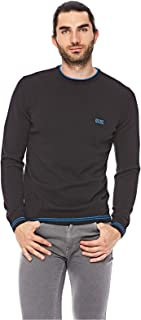 Hugo Boss Sweatshirts For Men, M, Black (728678486550)