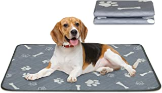 Niubya Washable Dog Pee Pads, Waterproof Reusable Puppy Pad, Super Absorbent Pet Pee Pads for Training, Travel, Whelping, ...