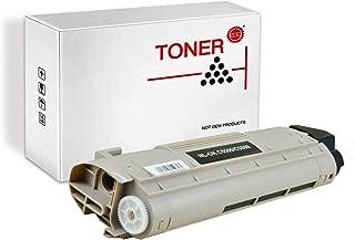 PRINT-RITE 43324404 43381904 C5500 C5800 OKI5500 Black Toner Cartridge 5000 Page Yield 1 Pack Compatible for Okidata C5500/C5800 Printer