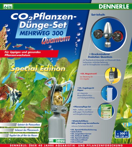Dennerle Mehrweg 300 Quantum Special Edition - Pflanzen-Dünge-Set für Aquarien
