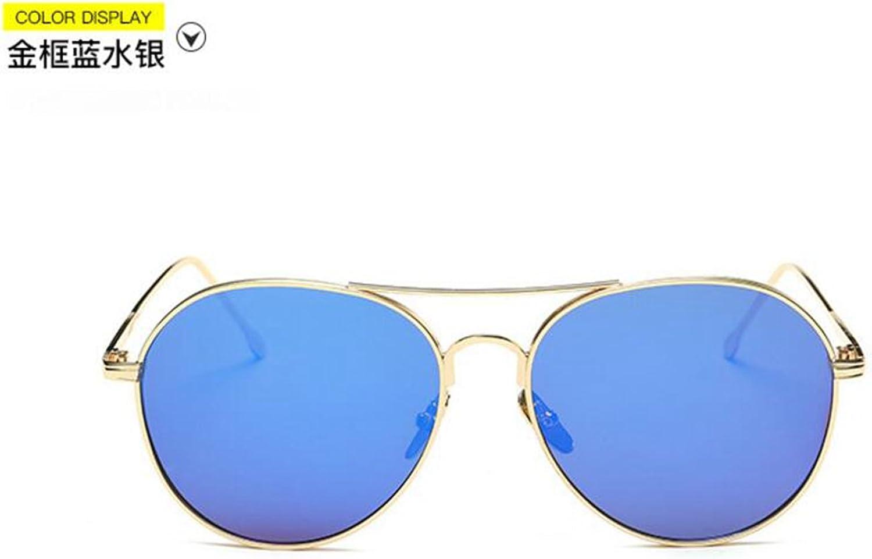 Sucastle Sonnenbrillen Sonnenbrillen Retro Trend Trend Trend Mode Farbfilm reflektierende Sonnenbrillen Metall PC QWERT B072Q3WMKJ  Hohe Sicherheit 8580be
