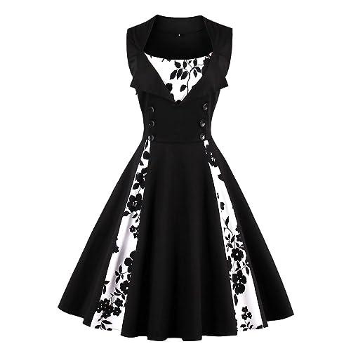 Plus Size Retro Dresses: Amazon.co.uk