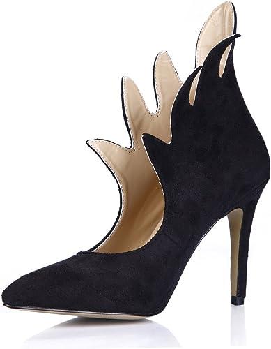 Bottes femme nouvelle personnalité delight fait-orteil chaussures à haut talon en satin noir Mesdames démarrage