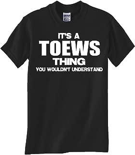 Toews Thing Black TEE Shirt