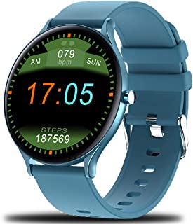 Smart watch, ultra-light and ultra-thin full touch with IP68 waterproof function, 1.28 inch touch, pedometer, heart rate, ...