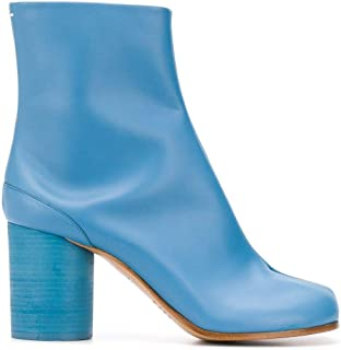 Maison Margiela Luxury Fashion Womens S58WU0260PR516T6287 Light Blue Ankle Boots | Spring Summer 20