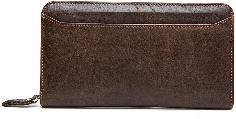 AUMING Geldbörse Herren Männer Leder Brieftasche Brieftasche Brieftasche Männer Brieftasche Männer Aktentasche Umschläge Handgelenk Taschen Business Casual Clutch Bag B07QDW67GZ a5d36e