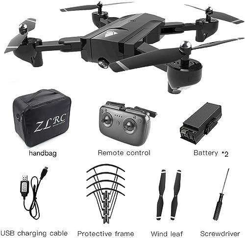 EdBerk74 SG900 Drone RC Pliable 2.4GHz WiFi Drones Drone de positionneHommest Optique de Flux RC avec caméra 720P et Batterie 2  1100mAh
