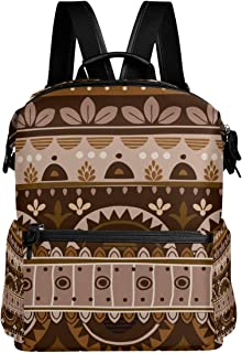 Backpack Rucksack Travel Daypack India Mexican Retro Element Colorful Student School Book Bag Casual Travel Waterproof