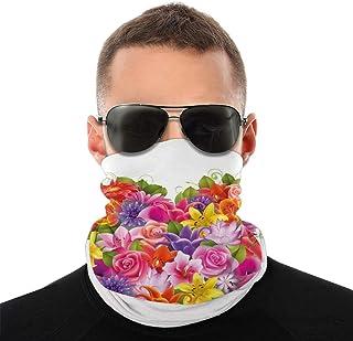 DarioTate Bandana Face Cover Bandanas Face Scarf Neck Gaiter Headband Neck Warmer Headwear Headwrap Headcovers Multifuncti...