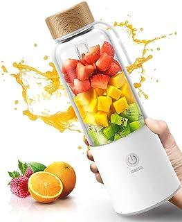 ZWWZ Juicer Machines, Chargement Portable Portable Juicer Frit Mini Ménage Petite Multi-Fonction Coupe de jus de Fruits él...
