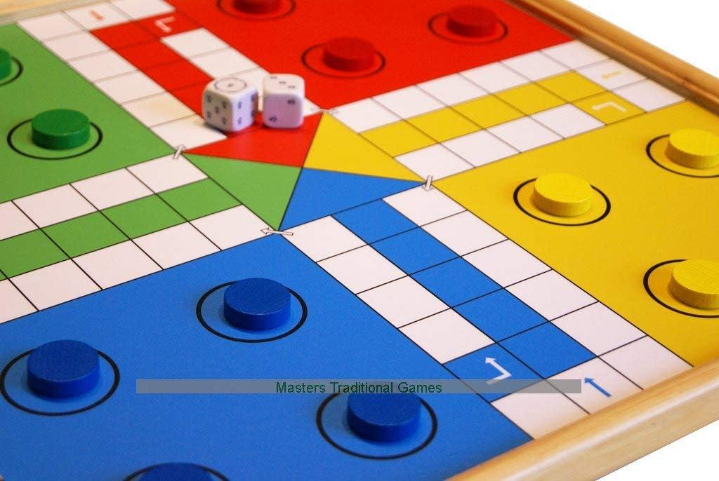 開店記念セール 18%OFF Masters Traditional Games Wooden Uckers Edition Standard Game -