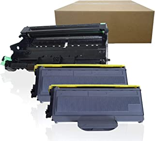 Inktoneram Compatible Toner Cartridges & Drum Replacement for Brother TN 60 TN-360 TN-330 MFC-7340 MFC-7345N MFC-7440N MFC-7840W HL-2140 HL-2170W DCP-7030 DCP-7040 (Drum,2-Toner,3PK)
