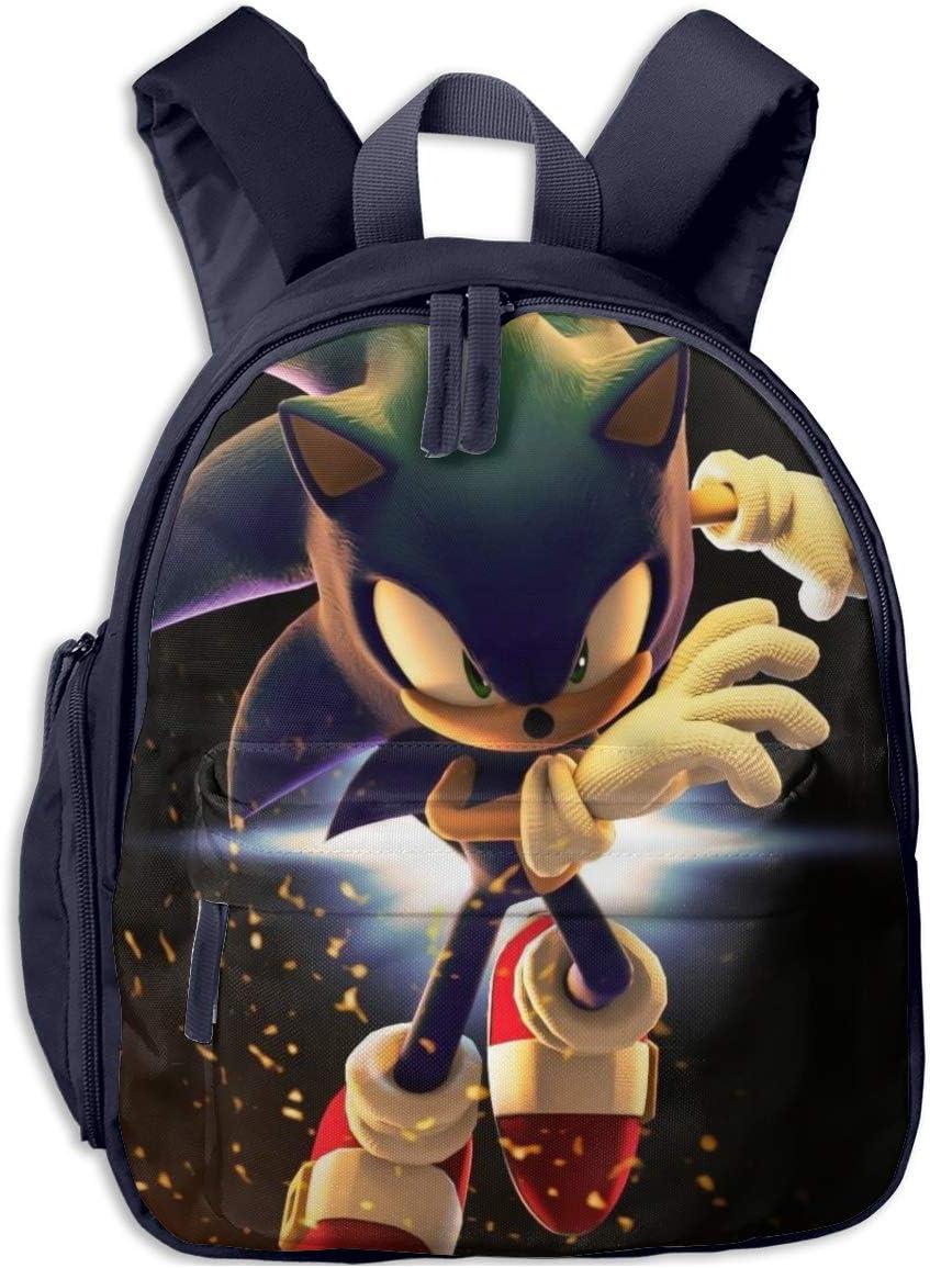 Kids Amine Sonic the Hedgehog 3D Digital Printed School Bags Boys Girls Backpack