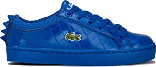 Lacoste Children Boys Straightset 4 Trainers Sneakers in Blue