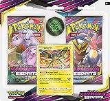 Pokemon- Pack 2 boosters Soleil et Lune-Harmonie des Esprits (SL11) -Modèle aléatoire, 2PACK01SL11