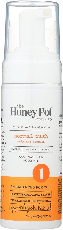 The Honey Pot Department store - Cheap sale Normal Foaming Cleanse Feminine 99% Nat Wash