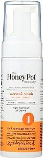 The Honey Pot - Normal Foaming Wash - Feminine Cleanse - 99% Natural - Herbal Formula - NO Artificial Fragrance - Parabens...