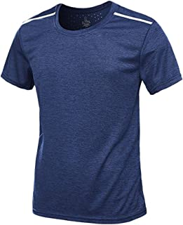 Fast-Dry T-Shirt Men's T-Shirtss Athletics Plus Size Summer Casual O-Neck Fitness Sport Breathable Top Blouse