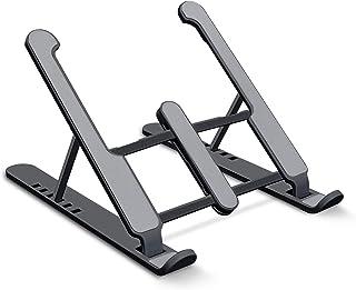 aifulo Laptop Ständer ,schwarz Notebook Ständer Tragbarer Höhenverstellbar,Laptop ständer faltbar rutschfest und Kratzfest...