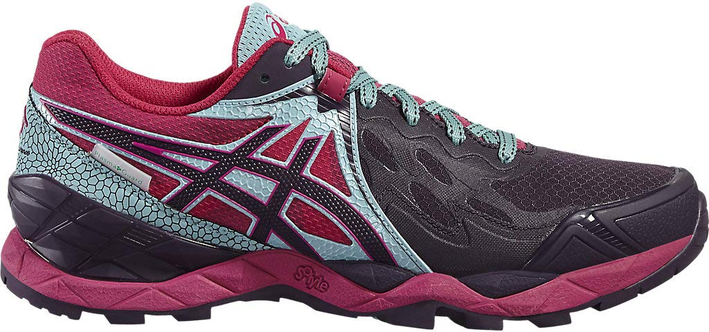 ASICS Gel Fuji Endurance Plasmashield Womens Trail Running Shoes - Pink-6.5