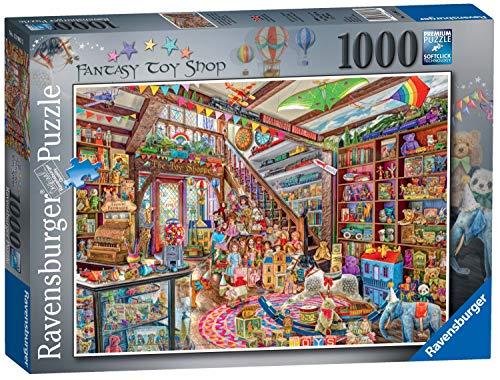 Ravensburger The Fantasy Toy Shop (Der Fantasie-Spielzeugladen), Puzzle, 1000Einzelteile