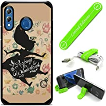 Hybrid Rugged Hard Cover Case Compatible with Galaxy [A30] [A20] - Alice in Wonderland Shadow Falling (with Free Phone Stand Gift!)