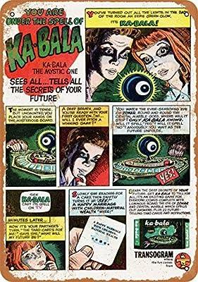 Phirtyrius 1967 Ka-Bala Juego de Mesa Vintage Look Metal Estaño Sign – 10 x 14 Pulgadas: Amazon.es: Hogar