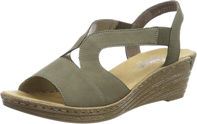 Rieker Women's 62429-54 Closed Toe Sandals