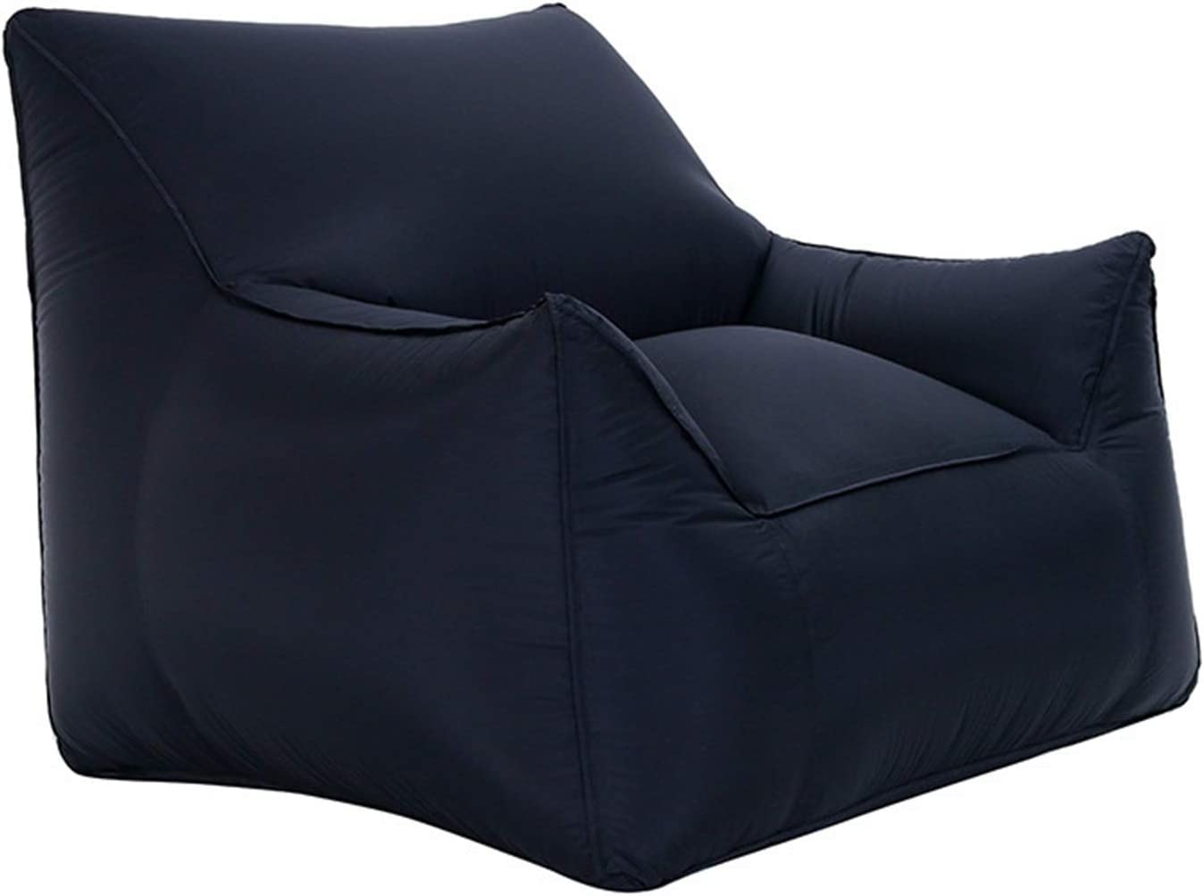 LZRDZSW Outdoor Portable Single List price Inflatable Max 81% OFF Bag Chair Moist Bean