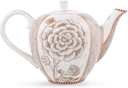Preisvergleich für Pip Studio Tea Pot small Spring to Life | off white | 550 ml