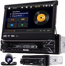 Single 1 Din Car DVD Player in Dash GPS Navigation Car Stereo AM FM Radio Receiver..