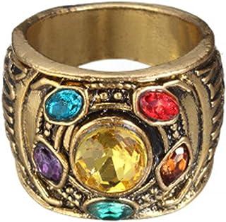 PPX Thanos Infinity Anello Infinity War Soul Stone Power Anello Oro Anello per Costume
