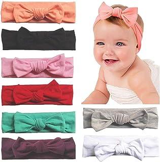 Frmarche Turbantes Bebé Niña Arco Adorable Bandas Elá