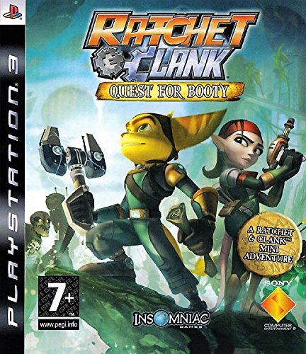 Ratchet and Clank head off on an exciting treasure hunt Test your pirate wits: mix brew, manipulate shadows and play tunes to find vital clues to Captain Angstrom Darkwater's treasure Travel to four exotic new locations and fight new pirate enemies A...