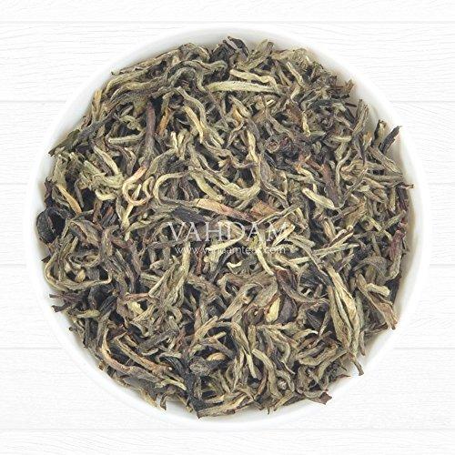 VAHDAM, Imperial White Tea Leaves from Himalayas (25 Cups) - World's Healthiest Tea Type - POWERFUL ANTI-OXIDANTS, High Elevation Grown, White Tea Loose Leaf - Detox Tea & Slimming Tea, 1.76oz