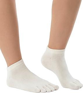 Naturals Organics Sneaker | Calcetines tobilleros de dedos para hombre y mujer en algodón orgánico