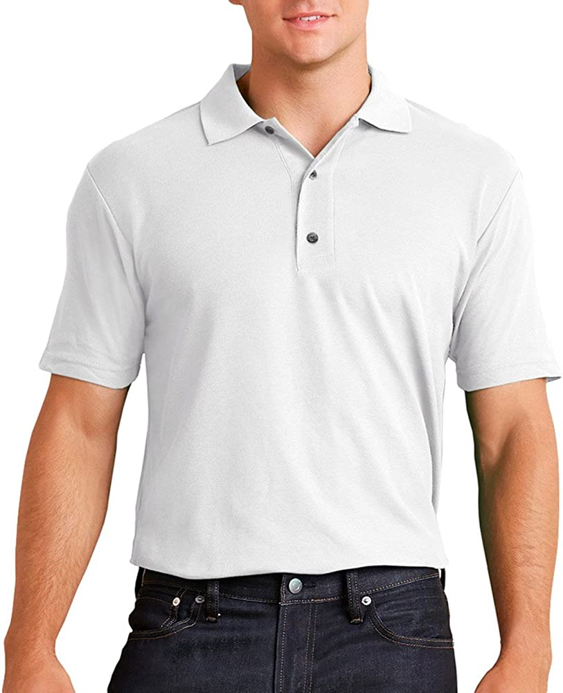 Performance 4.7 oz. Jersey Polo (G448) White, 3XL
